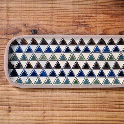 画像1: 一翠窯 / たたら長方皿(長)・三角