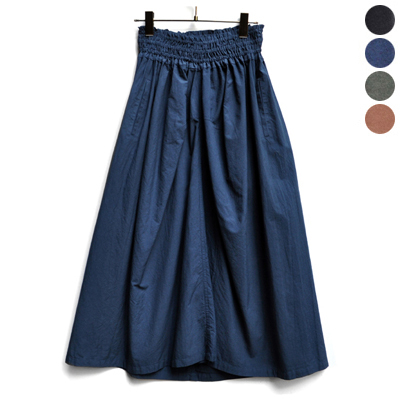画像4: 【 SALE 】¥15,000→¥13,500 / FACTORY(ファクトリー) / ペルー綿 ギャザースカート