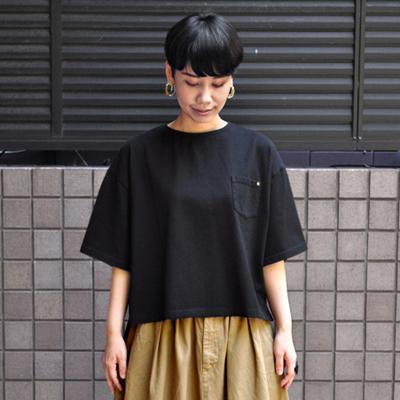 画像2: 【再入荷】HARVESTY(ハーベスティ)/ ドロップショルダーボックスTシャツ