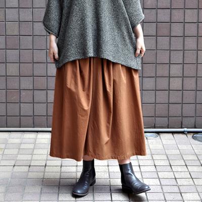 画像1: 【 SALE 】¥15,000→¥13,500 / FACTORY(ファクトリー) / ペルー綿 ギャザースカート