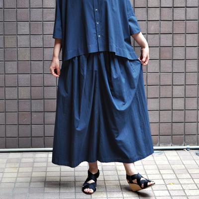 画像2: 【 SALE 】¥15,000→¥13,500 / FACTORY(ファクトリー) / ペルー綿 ギャザースカート