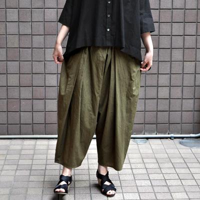 画像1: 【 SALE 】¥18,000→¥15,800 / FACTORY(ファクトリー) / ペルー綿 袴バルーンパンツ