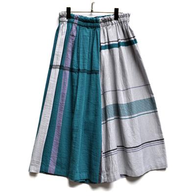 画像1: tamaki niime(玉木新雌) / only one wide pants cotton(オンリーワン ワイドパンツ:コットン)・ショート