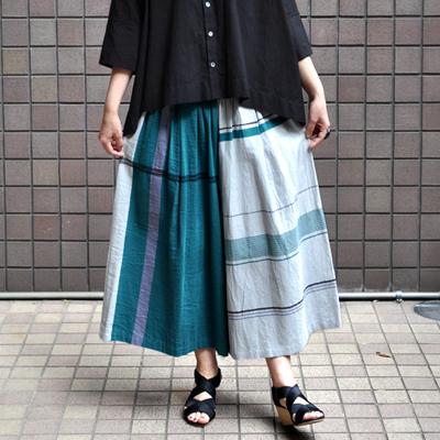 画像2: tamaki niime(玉木新雌) / only one wide pants cotton(オンリーワン ワイドパンツ:コットン)・ショート