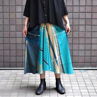 画像2: tamaki niime(玉木新雌) / only one chotan skirt : cotton(オンリーワン チョタンスカート:コットン)