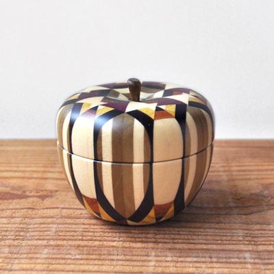 画像1: 金指勝悦 / リンゴの小物入れ( M )