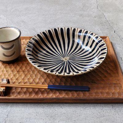 画像1: 工房小春花 / 麦藁手 7寸平鉢