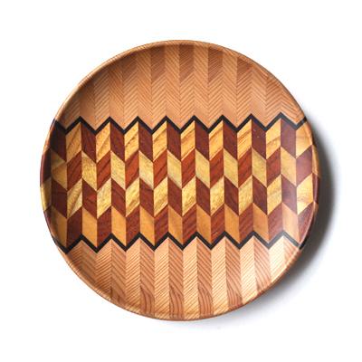 画像4: 金指勝悦 / 6.5寸 寄木盛り皿