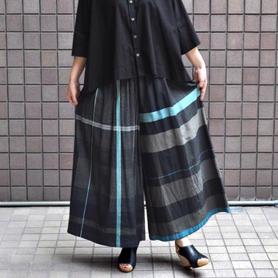 画像3: tamaki niime(玉木新雌) / only one  wide pants : cotton(オンリーワン ワイドパンツ:コットン)・ロング