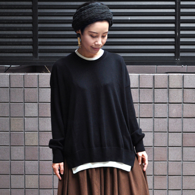 画像3: 【2019AW】FACTORY(ファクトリー)/ ペルー綿 レイヤードセーター