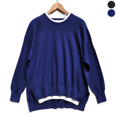 画像5: 【2019AW】FACTORY(ファクトリー)/ ペルー綿 レイヤードセーター