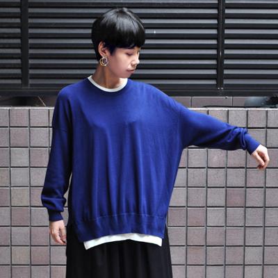 画像4: 【2019AW】FACTORY(ファクトリー)/ ペルー綿 レイヤードセーター