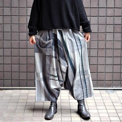 画像2: tamaki niime(玉木新雌) / only one tarun pants cotton(オンリーワン タルンパンツ:コットン)・ロング