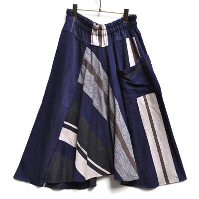 画像1: tamaki niime(玉木新雌) / only one chotan skirt : cotton(オンリーワン チョタンスカート:コットン)