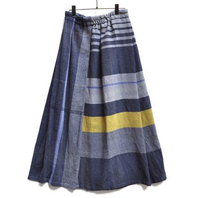 画像2: tamaki niime(玉木新雌)/ only one powan skirt wool(オンリーワン ポワンスカート:ウール)・ロング