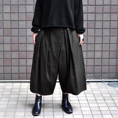画像3: 【2019AW】FACTORY(ファクトリー)/ 刺子織 タックバルーンパンツ(ペルーコットン)