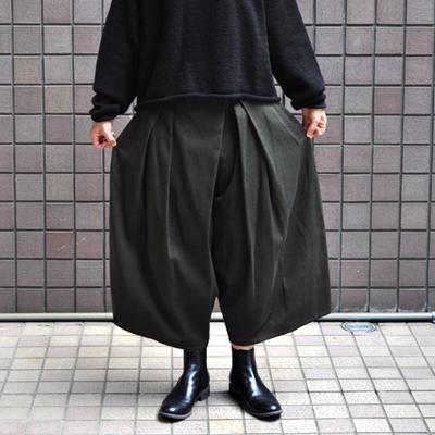 画像4: 【2019AW】FACTORY(ファクトリー)/ 刺子織 タックバルーンパンツ(ペルーコットン)