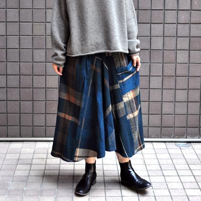 画像3: tamaki niime(玉木新雌) / only one chotan skirt : wool(オンリーワン チョタンスカート:ウール)