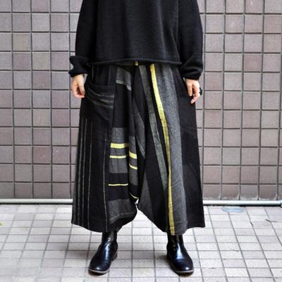 画像3: tamaki niime(玉木新雌) / only one tarun pants wool(オンリーワン タルンパンツ:ウール)・ロング
