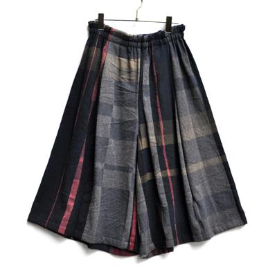 画像2: tamaki niime(玉木新雌) / only one  wide pants wool(オンリーワン ワイドパンツ:ウール)・ショート