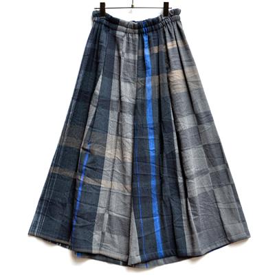 画像1: tamaki niime(玉木新雌) / only one  wide pants wool(オンリーワン ワイドパンツ:ウール)・ロング