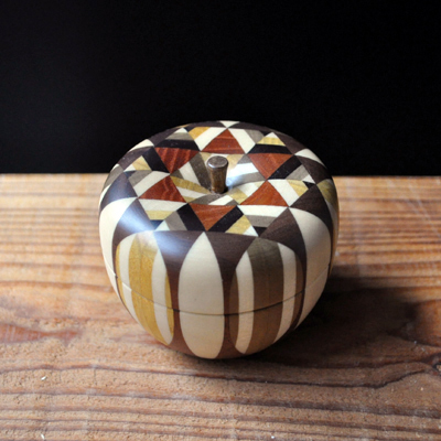 画像2: 金指勝悦 / リンゴの小物入れ( M )