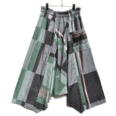 画像1: tamaki niime(玉木新雌) / only one tarun pants cotton(オンリーワン タルンパンツ:コットン)・ロング