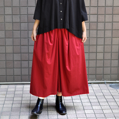 画像1: 【 SALE30%OFF 】¥16,500→¥11,550 / FACTORY(ファクトリー) / ペルー綿 ギャザースカート