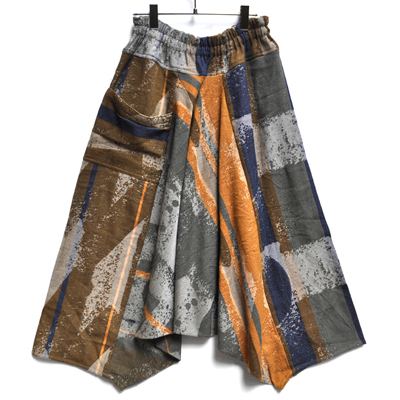 画像2: tamaki niime(玉木新雌) / only one tarun pants wool(オンリーワン タルンパンツ:ウール)・ロング
