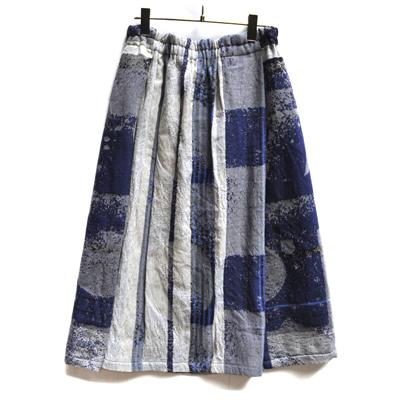 画像2: tamaki niime(玉木新雌)/ only one powan skirt wool(オンリーワン ポワンスカート:ウール)・ショート