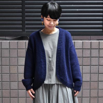 画像3: 【 SALE30%OFF 】¥19,000→¥13,300 / MAISON ANJE (メゾン オンジェ)/ LECAMBOM ボレロニットカーディガン