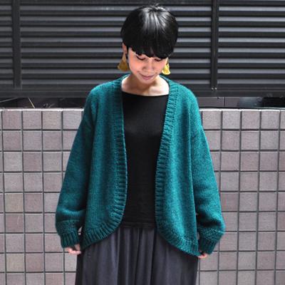 画像4: 【 SALE30%OFF 】¥19,000→¥13,300 / MAISON ANJE (メゾン オンジェ)/ LECAMBOM ボレロニットカーディガン