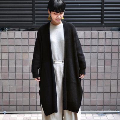 画像1: 【 SALE20%OFF 】¥35,000→¥28,000 / FACTORY(ファクトリー)/ ベビーキャメル オーバーサイズカーディガン