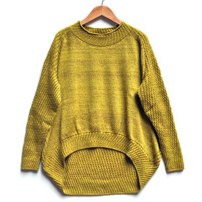 画像1: tamaki niime(玉木新雌)/ only one PO knit ミィラァクル(ポニット・ウール)