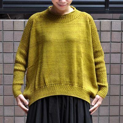 画像2: tamaki niime(玉木新雌)/ only one PO knit ミィラァクル(ポニット・ウール)