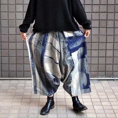 画像1: tamaki niime(玉木新雌) / only one tarun pants wool(オンリーワン タルンパンツ:ウール)・ロング