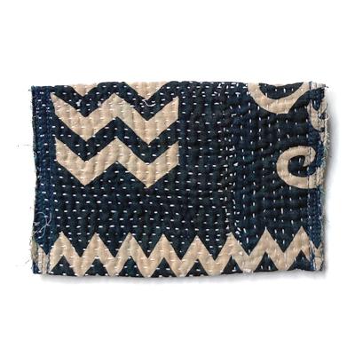 画像3: cotton kantha Pocket tissue cover / コットンカンタ ポケットティッシュカバー