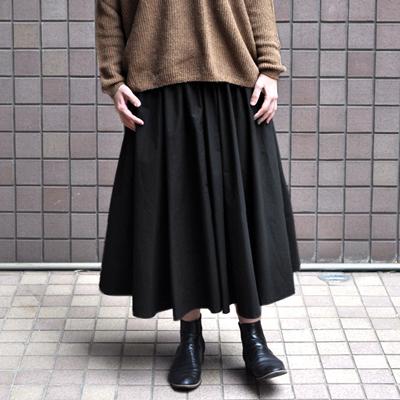 画像4: 【2021SS】FACTORY(ファクトリー)/ ペルー綿高密度ブロード  サーキュラースカート