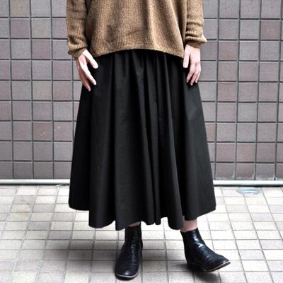 画像2: 【2021SS】FACTORY(ファクトリー)/ ペルー綿高密度ブロード  サーキュラースカート
