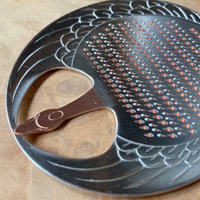 画像4: 大矢製作所 / 純銅製 卓上おろし金・ツル型 (薬味おろし)