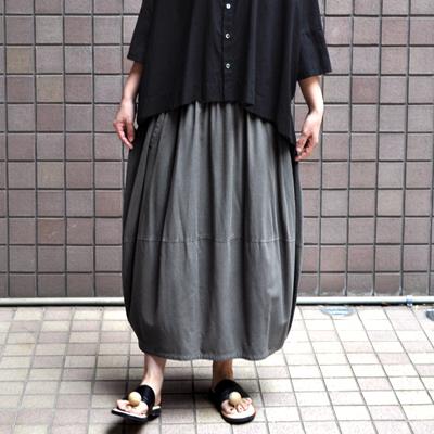 画像1: 【2021SS】FACTORY(ファクトリー)/ バンブーコットン バルーンスカート