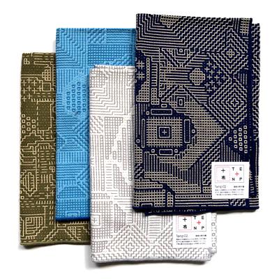画像1: 【再入荷】十布(テンプ) /  福島の刺子織 大判ハンカチ