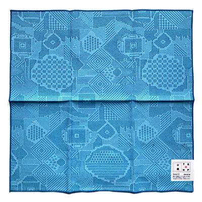 画像2: 【再入荷】十布(テンプ) /  福島の刺子織 大判ハンカチ