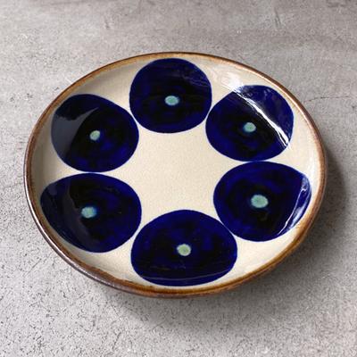 画像2: エドメ陶房 / 7寸皿(丸紋)